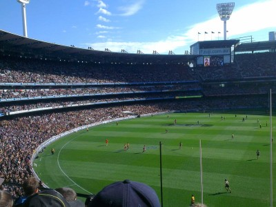 AFL at MCG Stadium